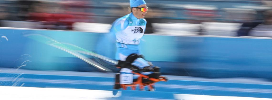 Biatlón stock image
