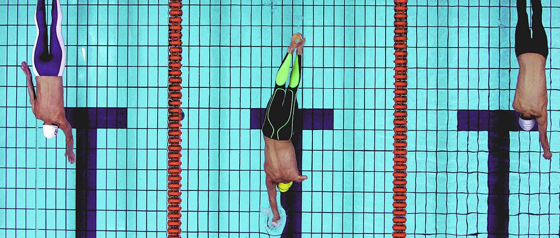 水泳 stock image