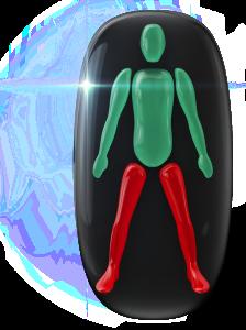 両下肢の動きに重度の障害。