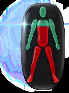 Veľmi postihnutý pohyb v tele pod hrudníkom a v nohách.