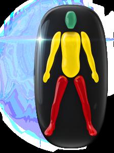 Movimiento ligeramente limitado del tronco y de los brazos y muy limitado de las piernas.