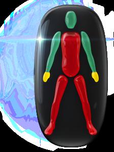Movimiento o coordinación muy limitados de todo el tronco y de las piernas, con una ligera discapacidad en el agarre de las manos.