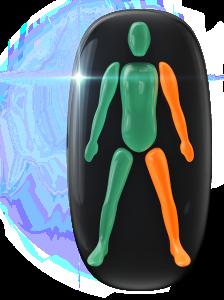 Mouvement modérément limité d'un bras et d'une jambe du même côté du corps.