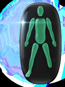 Ausencia de una pierna (por debajo de la rodilla).